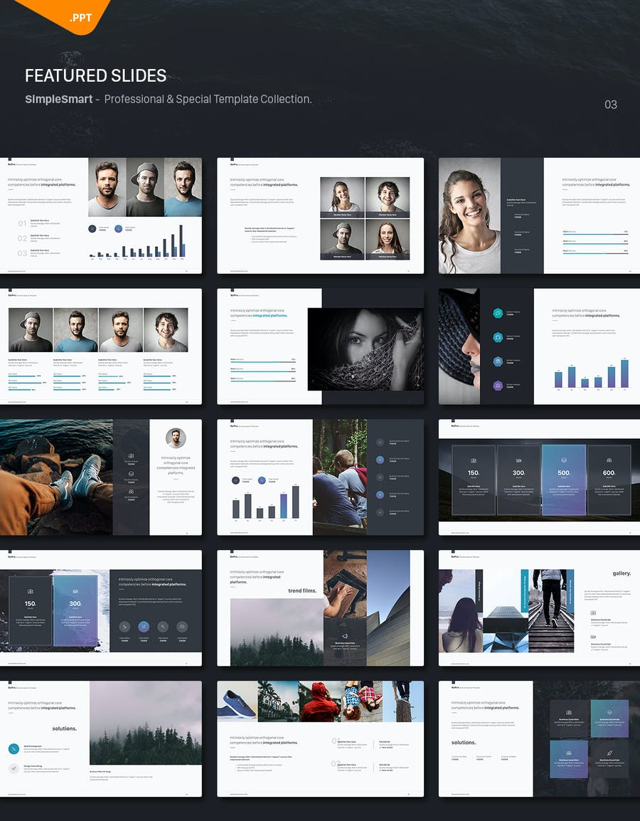 BePro Powerpoint Business Template - 3