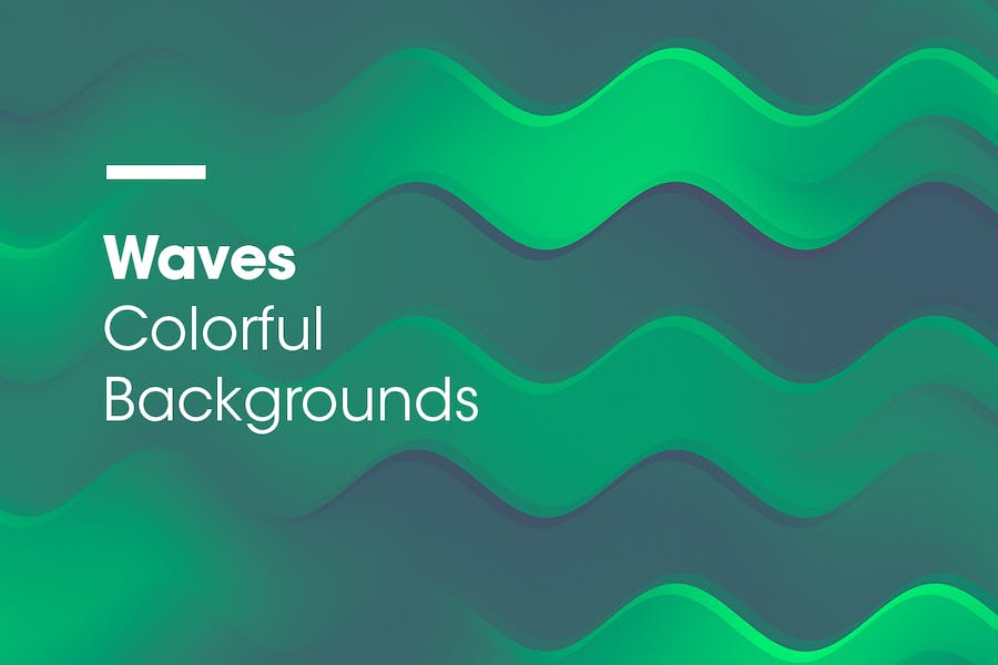 Waves | Colorful Backgrounds - 0
