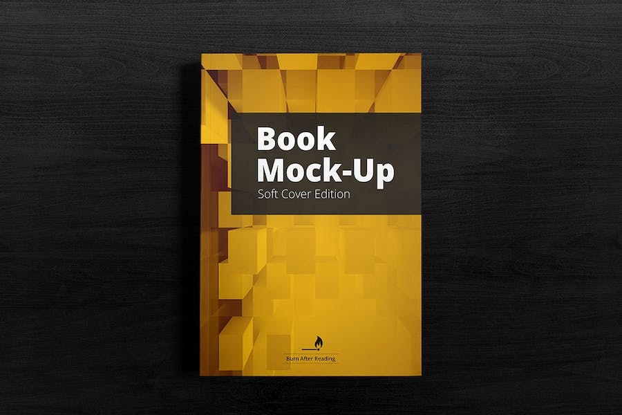 Soft Cover Book Mockup - 1