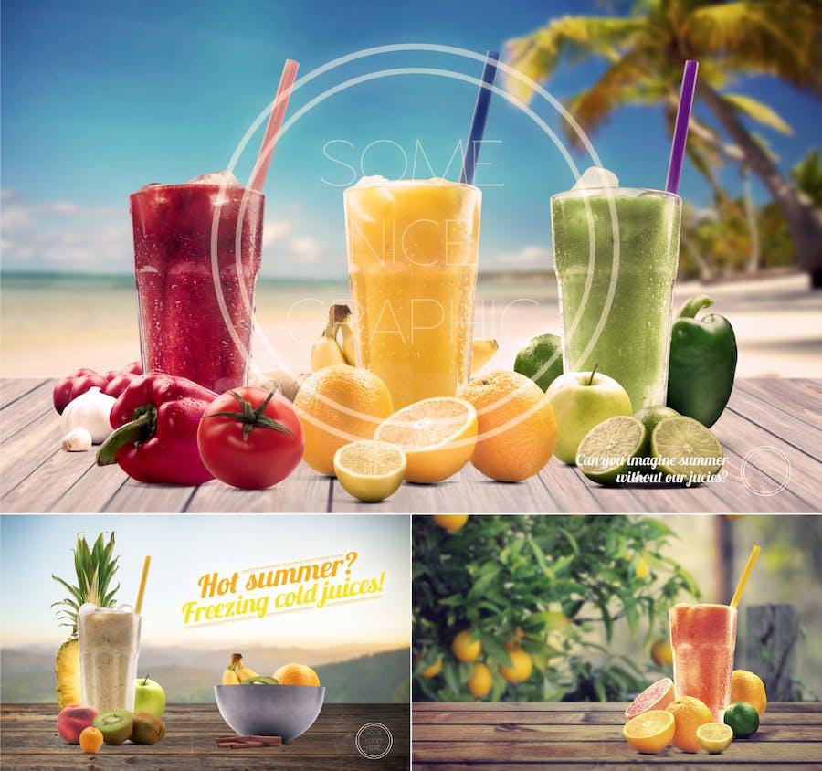 Organic Juice Maker Scene Generator - 1