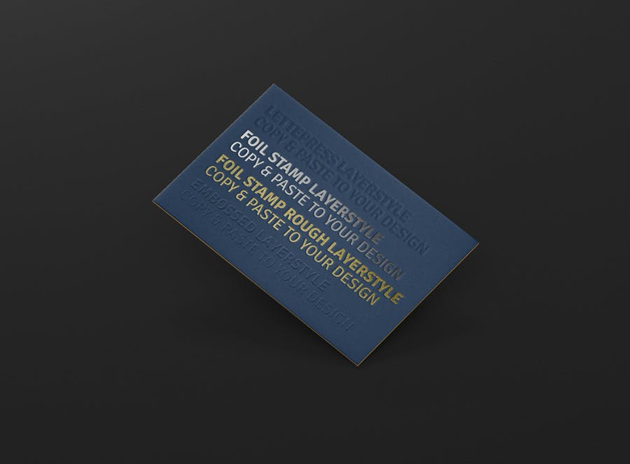 Business Card Mock-Up - 3