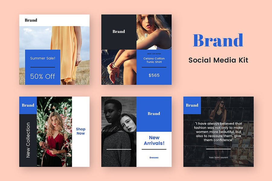 Brand Social Media Kit - 2