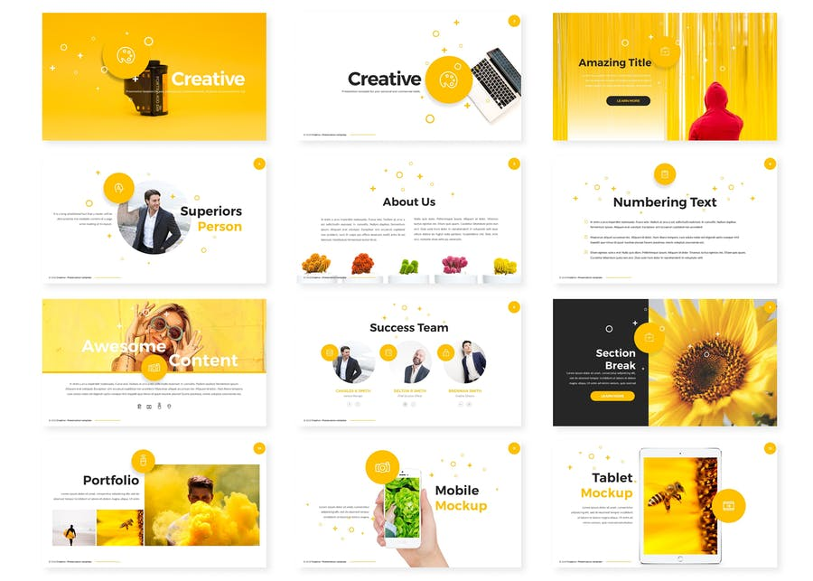 Creative Powerpoint Template - 0