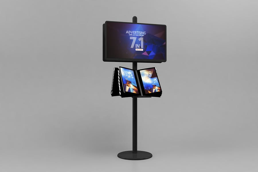 Advertising Display Mockups - 1