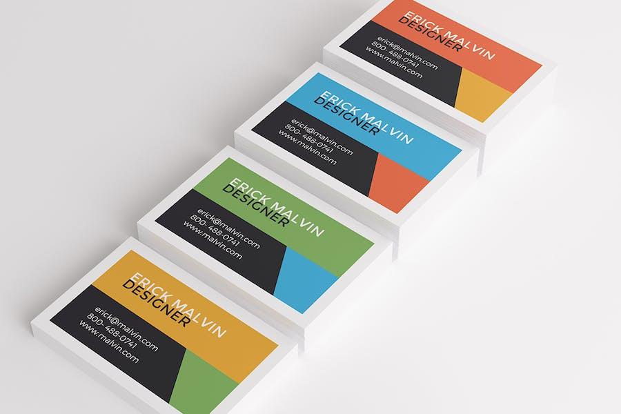 UK Business Cards Mock-up's [85×55 mm] - 0