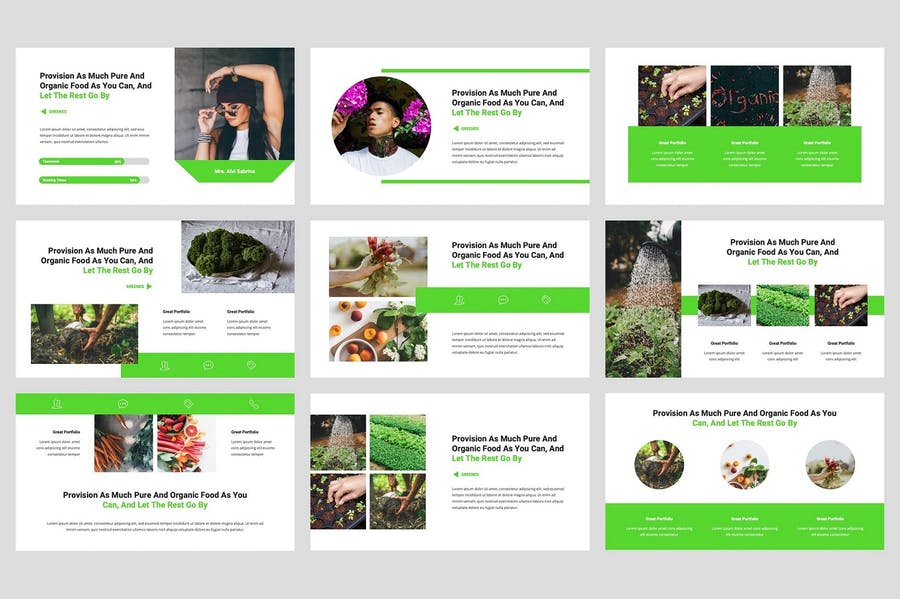 Greenes - Organic Keynote Template - 2
