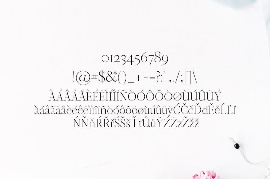 Jaavon Serif Font Family - 2