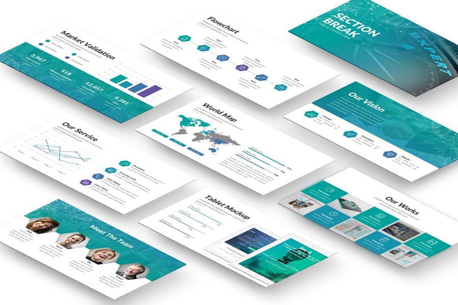 Eureka Powerpoint Template - 0
