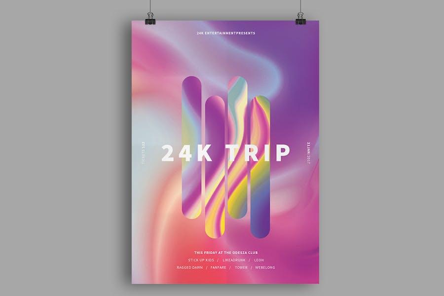 24K Trip Poster / Flyer - 0