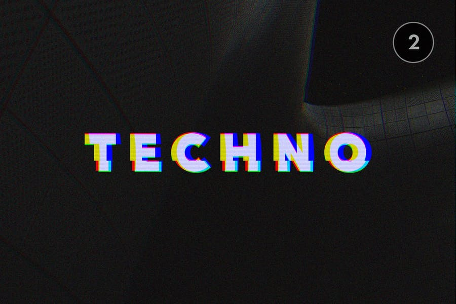 Glitch Text Effects Collection - 2