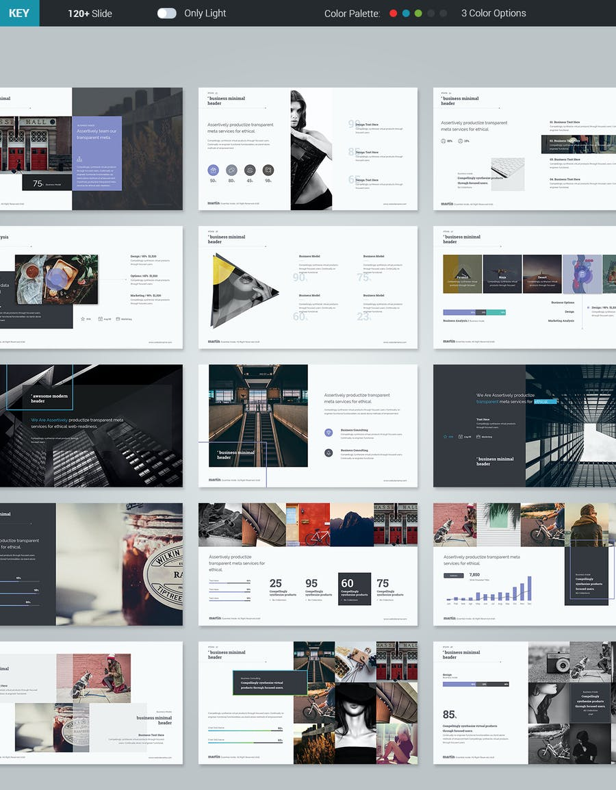 Martin Keynote Business Template - 3