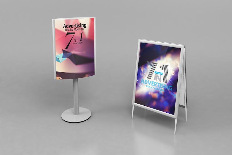 Advertising Display Mockups - 3
