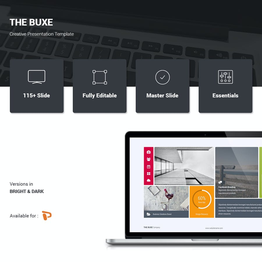 Buxe Creative & Multipurpose Template - 0