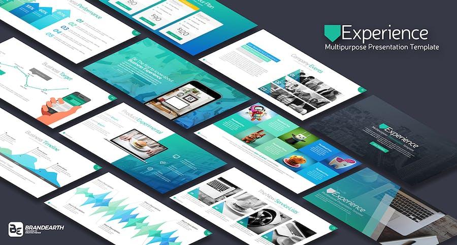 Experience Multipurpose Presentation Template - 0
