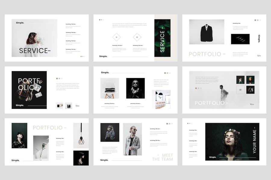 Kouri - Minimal PowerPoint Template - 1