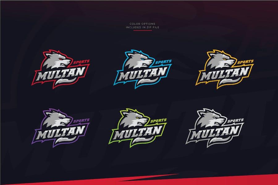 Wolf Sports Logo - 2