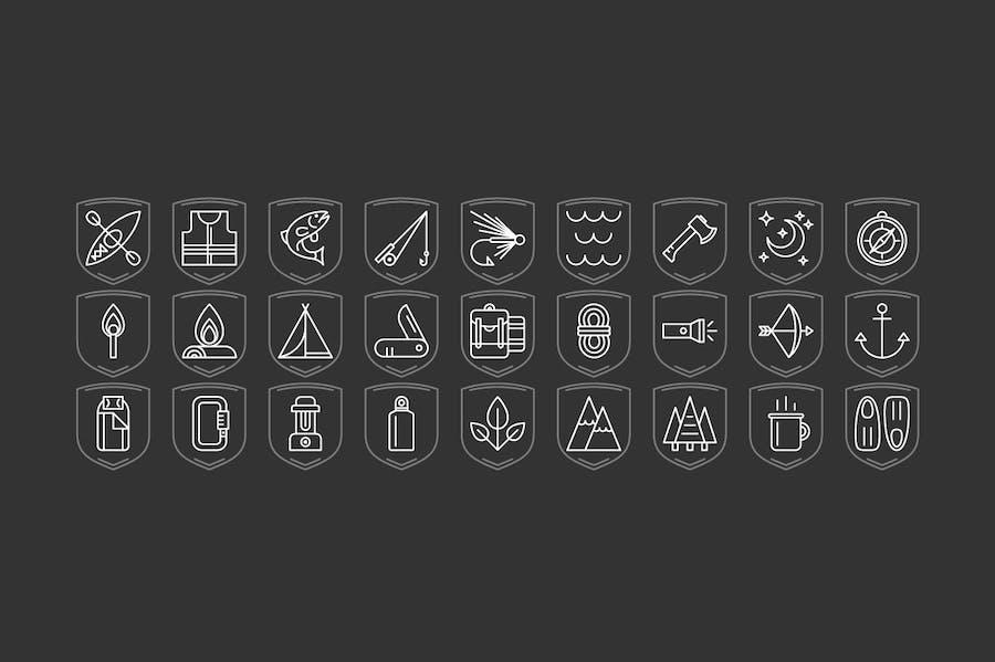 Outdoor Adventure Icons - 3