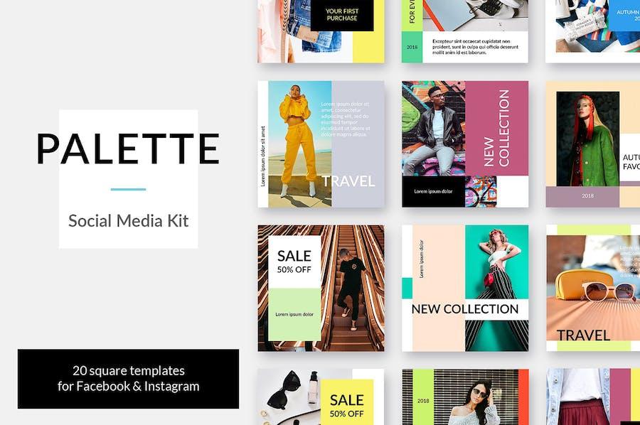 Palette Social Media Kit - 0