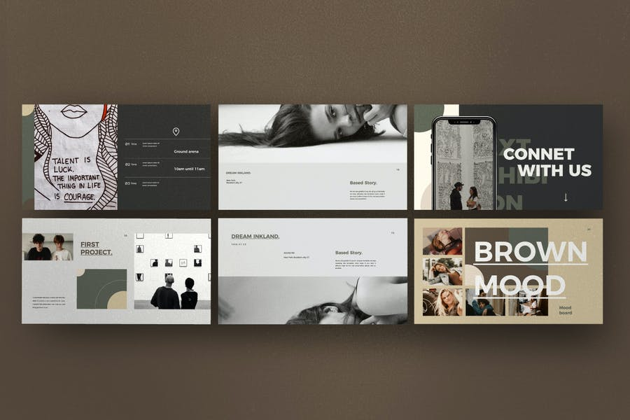 Portfolio - Creative Lookbook Fashion  - 1