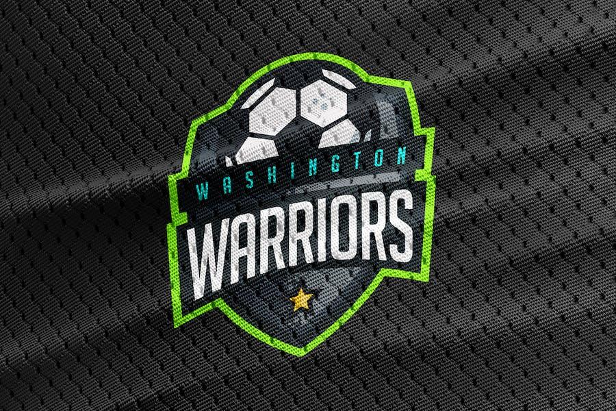 Washington Warriors - Soccer Team Logo - 2