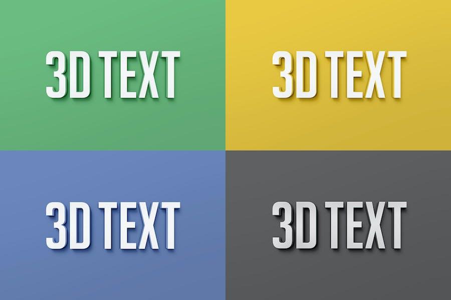 3D Text Effects - 1