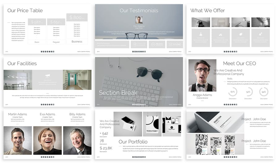 Sekka - Business Keynote Template - 1