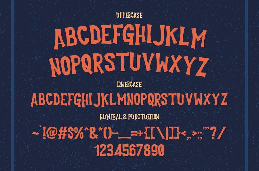 Cutlass Typeface - Lite - 1