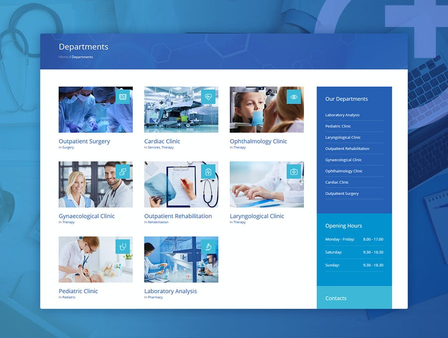 Medical Clinic - Health & Doctor Medical WP Theme - 2