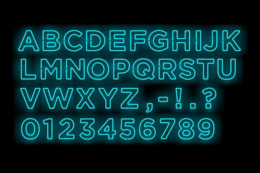 Neon Type 3 - 1