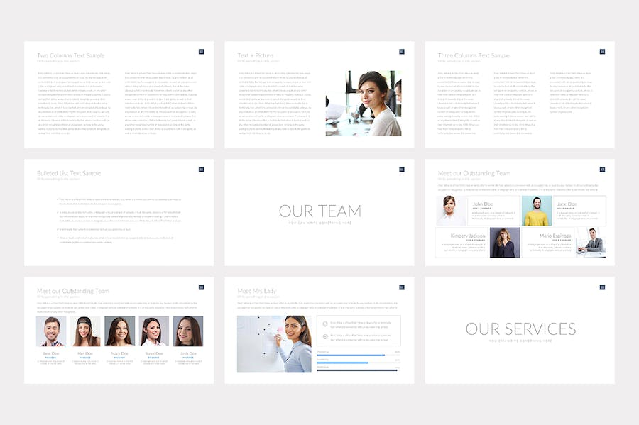 Nova Business Keynote Template Pitch Deck - 1