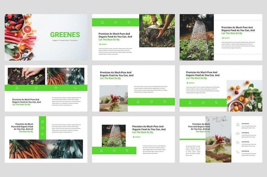 Greenes - Organic Keynote Template - 0