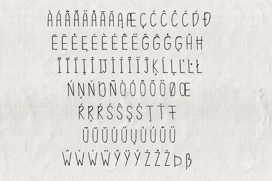 Simplicity Typeface - 2