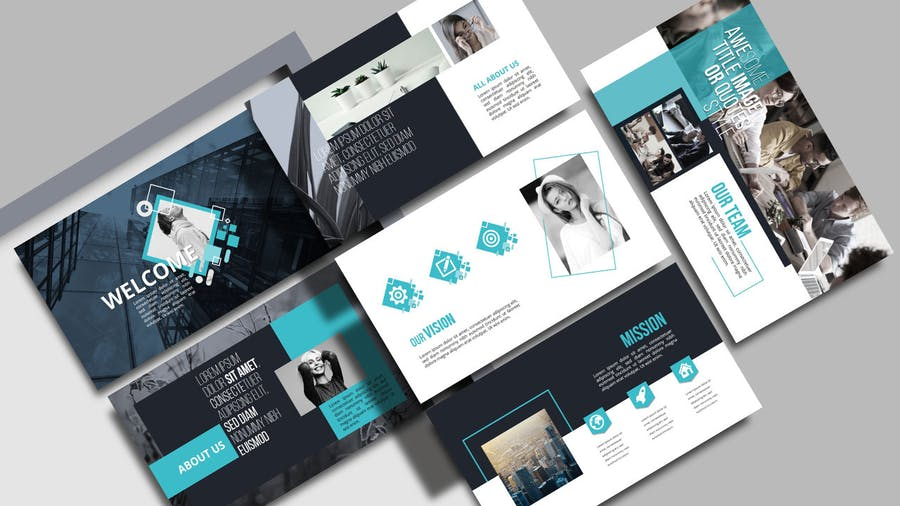 KIRANA - Multipurpose Powerpoint Template - 2