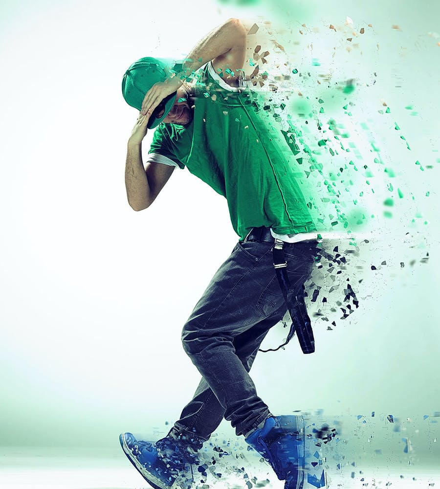 Dispersion Photoshop Action - 2