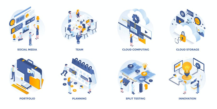 Set of Modern Isometric Concepts - 1