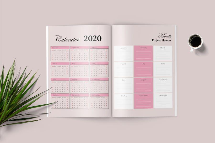 Daily Planner Workbook - 1