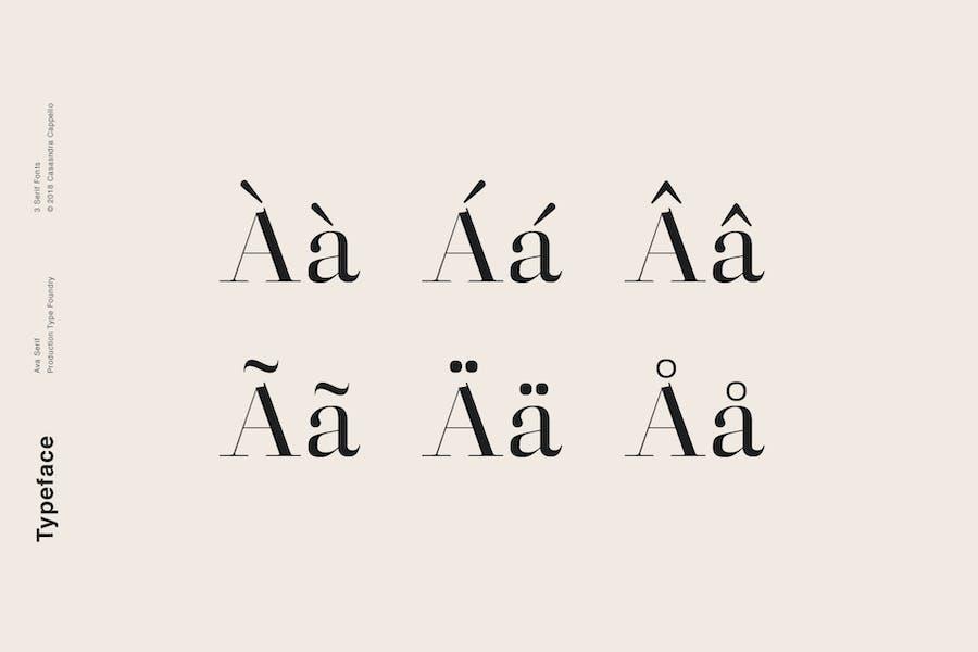 Ava - A Classy Serif Typeface - 2