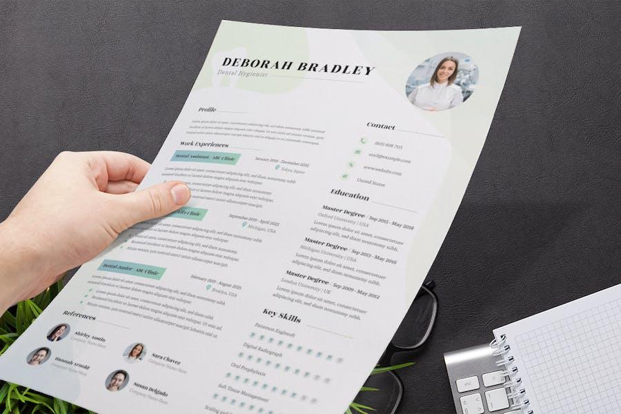 Dental Resume / CV  - 1