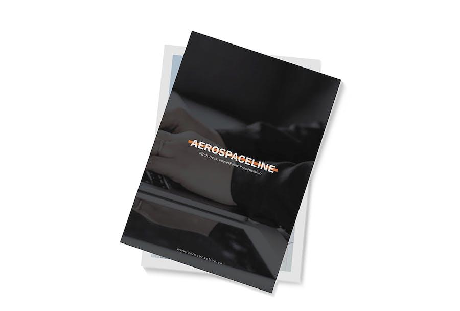 Pitch Deck A4 Brochure - 1