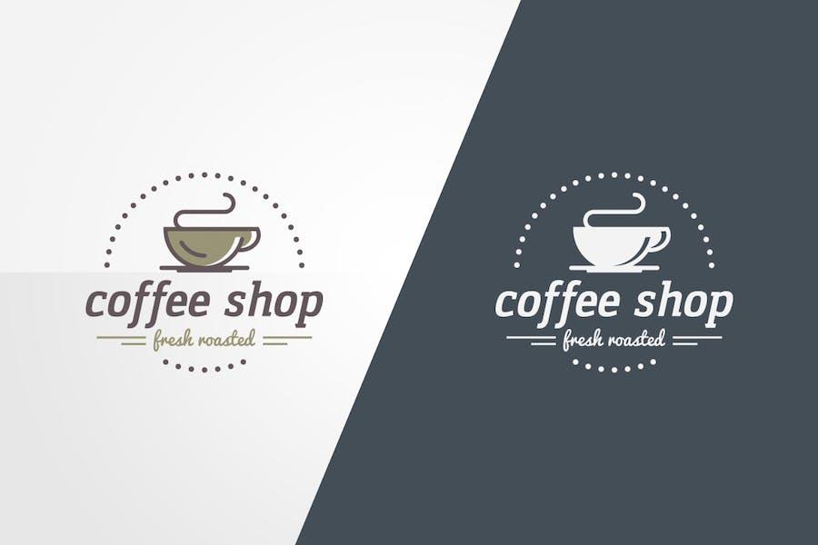 Coffee Shop Logo Template - 0
