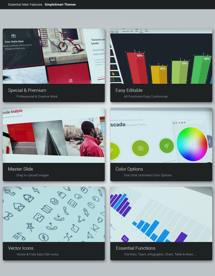 BePro Powerpoint Business Template - 0