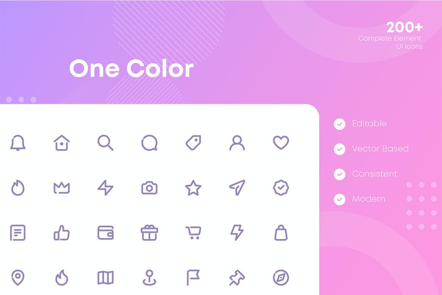Complete Web and Mobile UI Icons Pack - 0