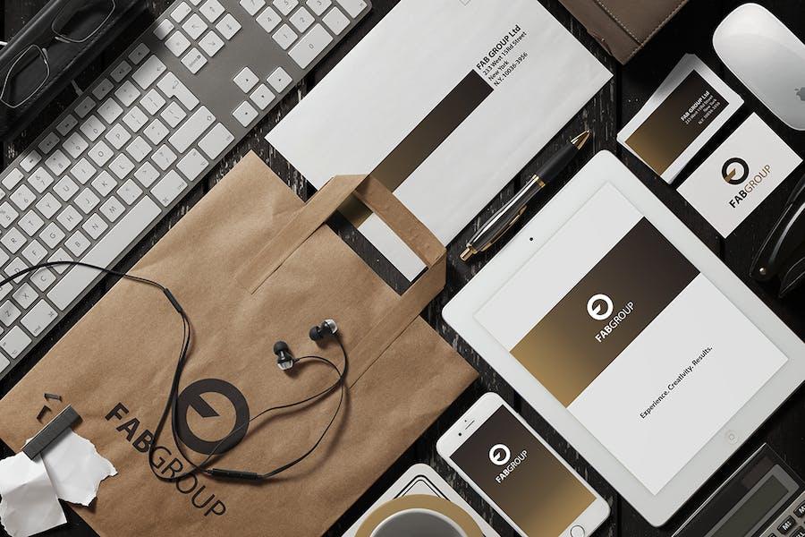 Branding / Identity Scene Creator - 2