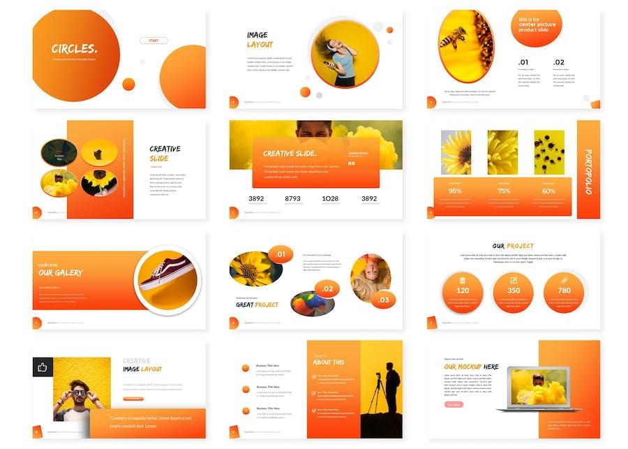 Circles - Google Slides Template - 0