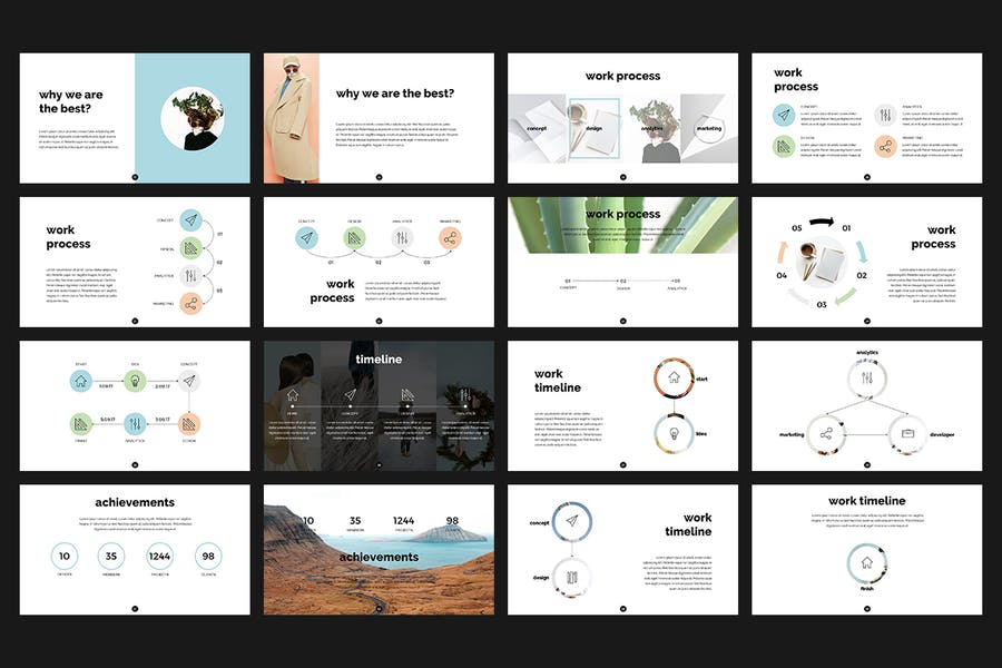 Enjoy PowerPoint Template - 1