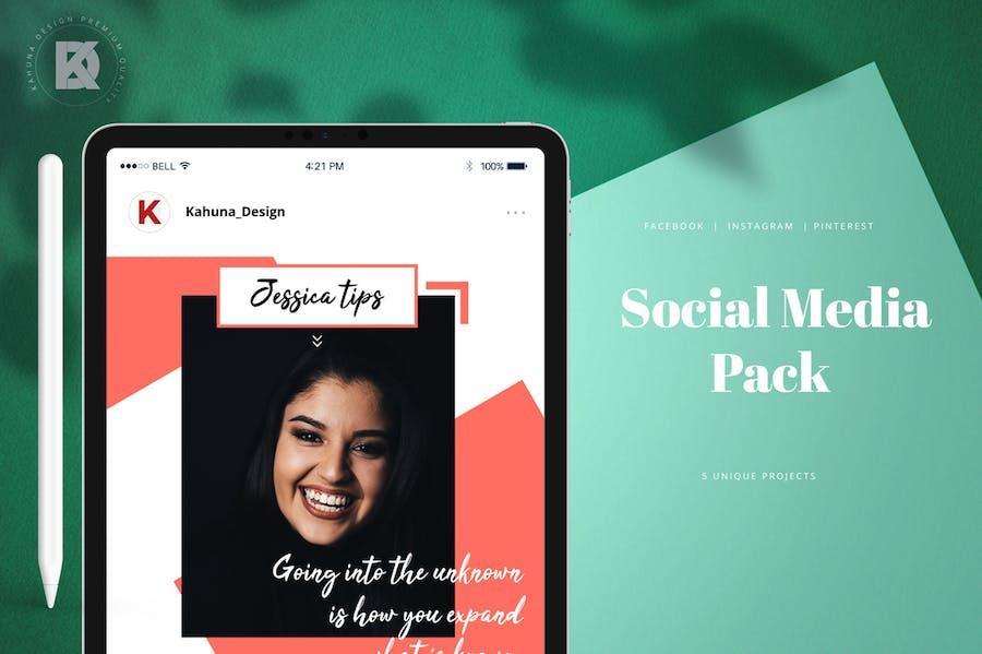 Social Media Pack - 0
