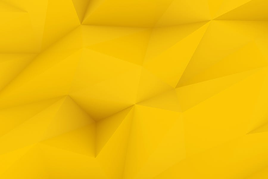 Yellow Polygon Backgrounds - 0
