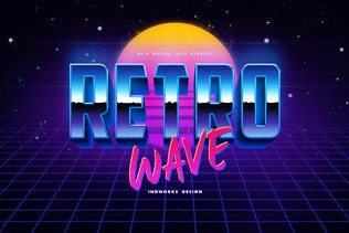 80's Retro Text Effects vol.1 - 1