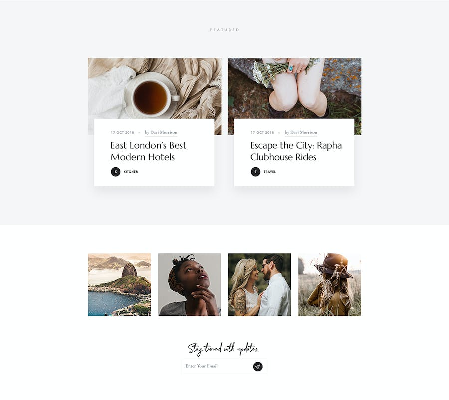 Marcell - Personal Blog & Magazine WordPress Theme - 0