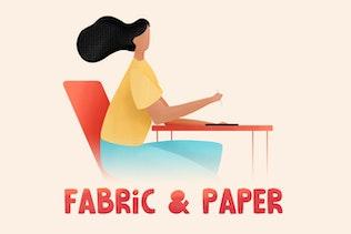 Fabric & Paper Procreate Brushes - 0